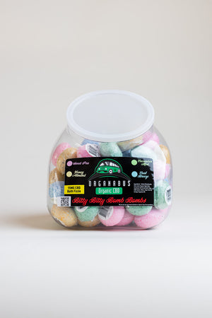 Mini Bath Bomb 64 Unit Assorted Display
