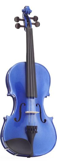 Harlequin Violin - Blue