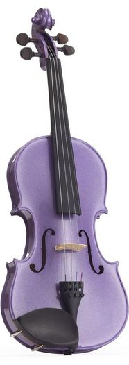 Harlequin Violin - Light Purple
