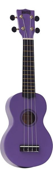 Mahalo Ukulele With Geared Machine Heads Purple Outfit Includes a Carry Bag