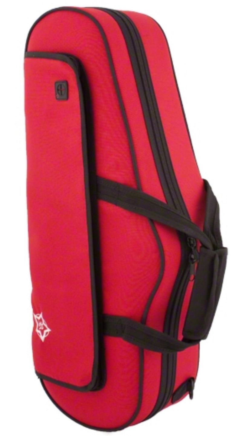 Rosetti/Band Supplies Shaped Lightweight Alto Saxophone Case - RED