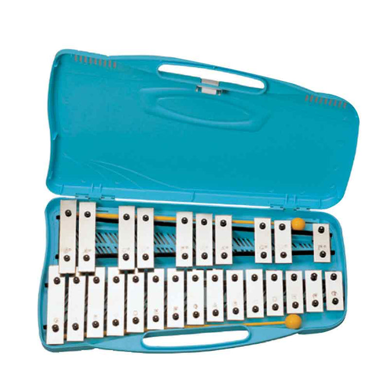 'Angel' AX25K 25 Note Glockenspiel Silver-Plated Notebars
