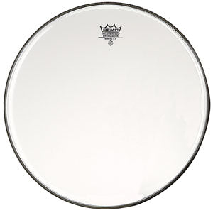 "Remo Ambassador Transparent 14"" Tom/Snare Transparent"