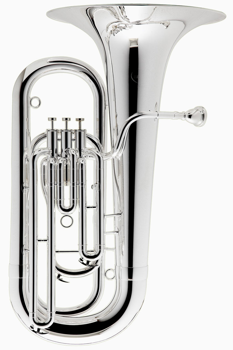 Besson BE177 Prodige 3 Valve Eb Tuba - Silver Plate