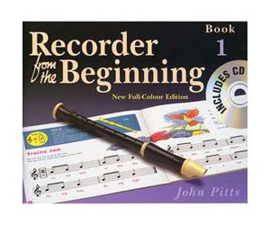 Recorder from the Beginning Book 1 with CD