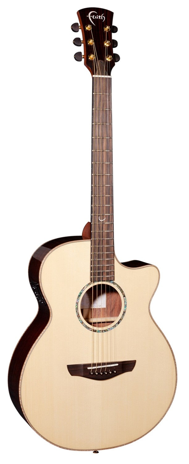 Faith Venus Cutaway Electro-Acoustic HiGloss, Natural