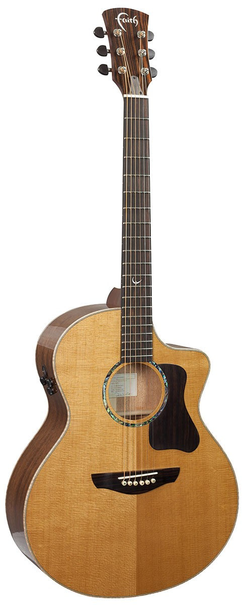 Faith PJE Legacy Neptune Electro/Cut Guitar - Natural
