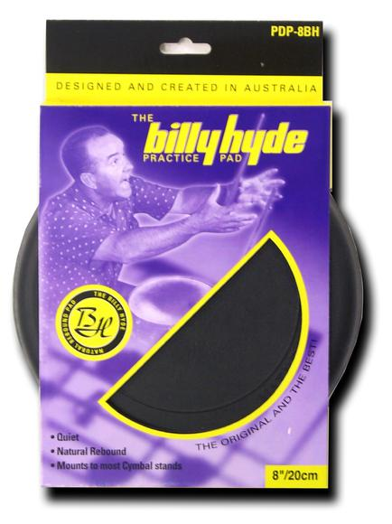"Billy Hyde 8"" Drum Practice Pad"