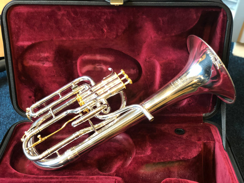 Besson BE2050-2G Prestige Tenor Horn - Silver Plate - Pre Owned