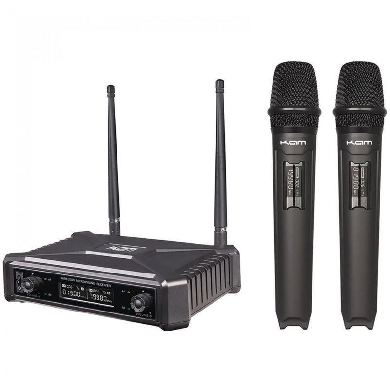 KAM Dual Microphone Fixed-Channel System