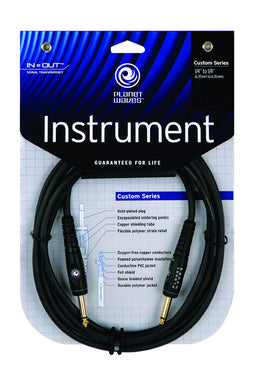 Planet Waves PW-G-20 Custom Guitar Lead 20ft