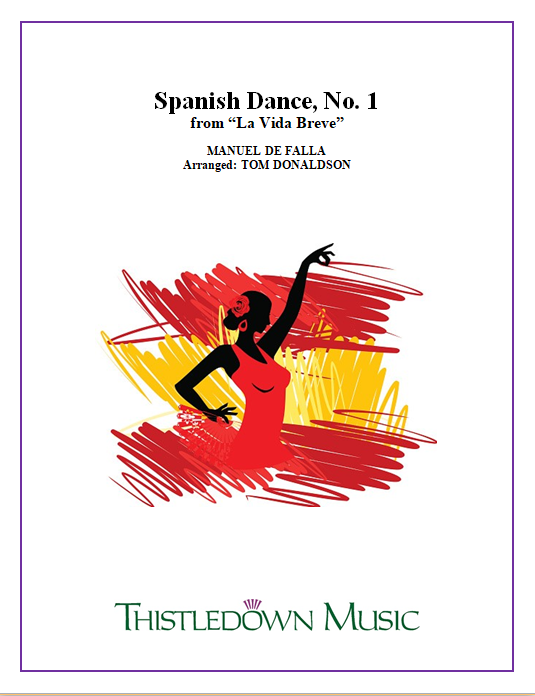 Spanish Dance, No.1 - Brass Band Set & Score