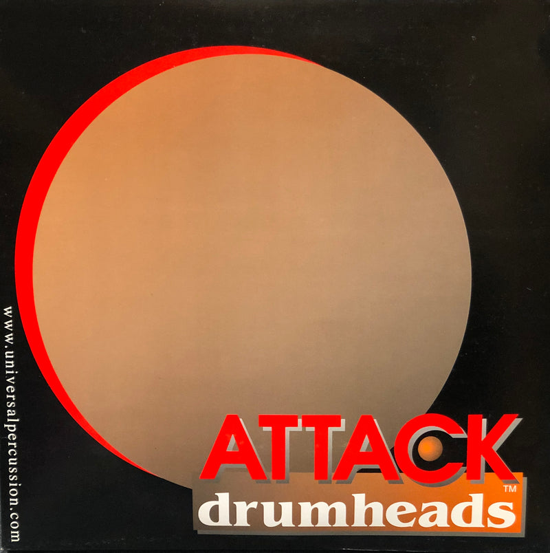 Attack Drumheads 4-Pack