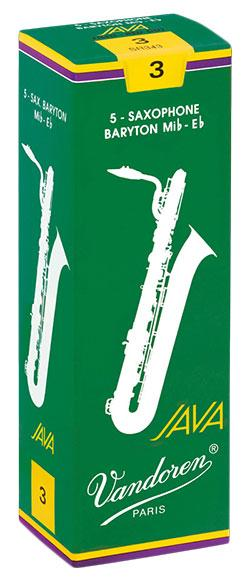 Vandoren JAVA - Baritone Sax Reeds - Box of 5