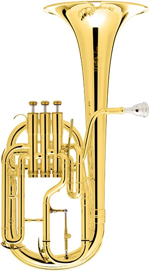 Besson BE2050G-1G - Prestige Tenor Horn - Gold Brass Bell in Lacquer