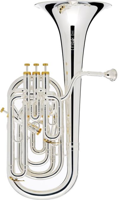 Besson BE2056 Prestige Baritone - Silver Plate - Ex Display