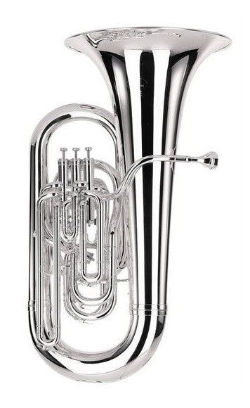 Besson Sovereign BE980 - Soloist - EEb Tuba - Silver Plate