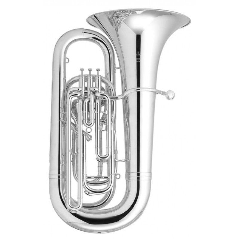 Besson BE994 Sovereign BBb Tuba - Silver Plate