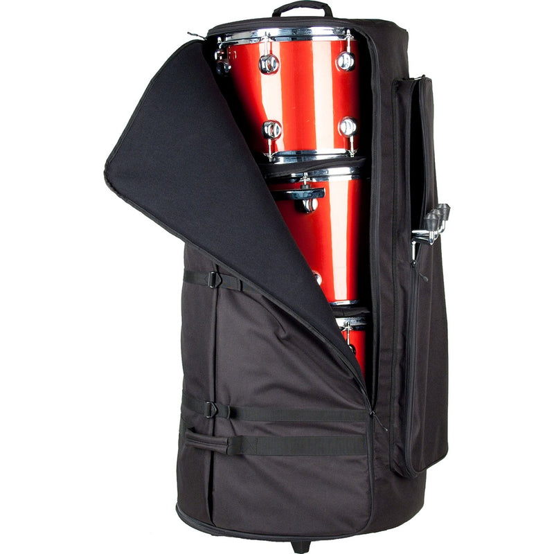 Protec CP200WL Multi-Tom Bag with Wheels