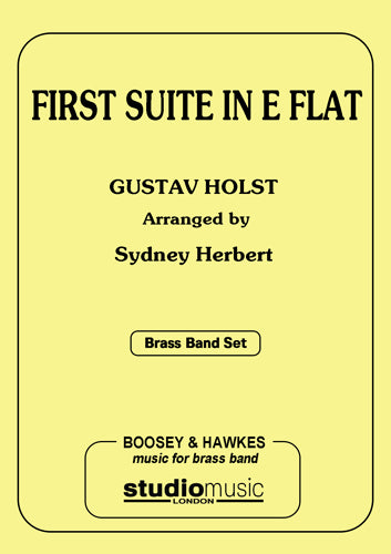 First Suite In E Flat - Parts & Score