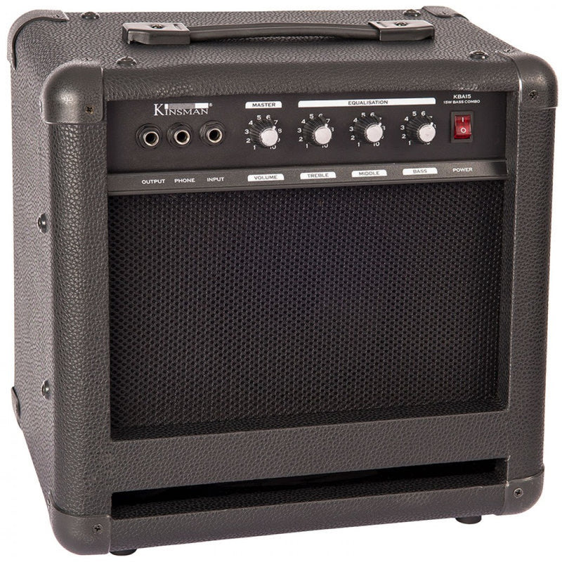 Kinsman 15 Watt Bass Guitar Amp