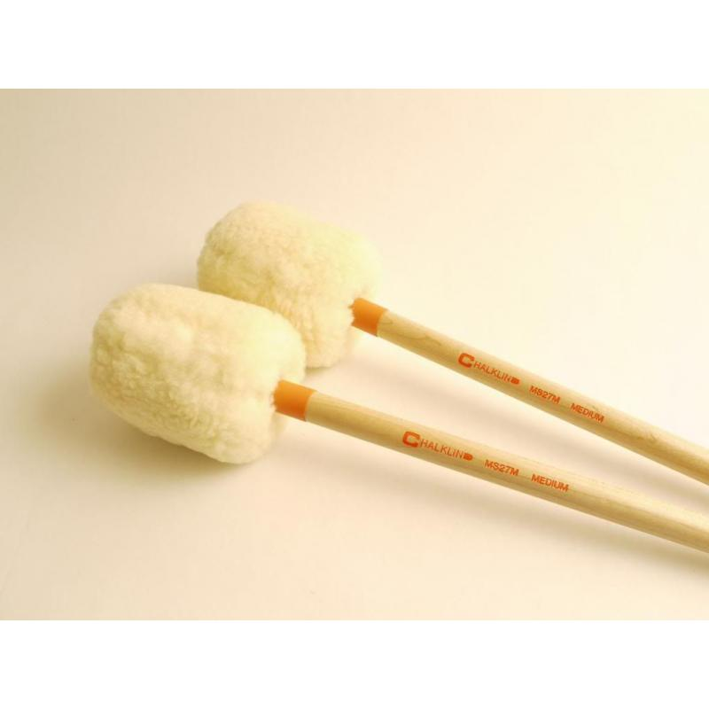 Chalklin MS27M Concert Bass Drum Mallets (Medium)