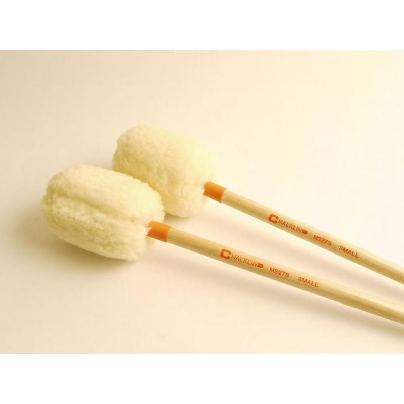 Chalklin MS27S Concert Bass Drum Mallets (Small)