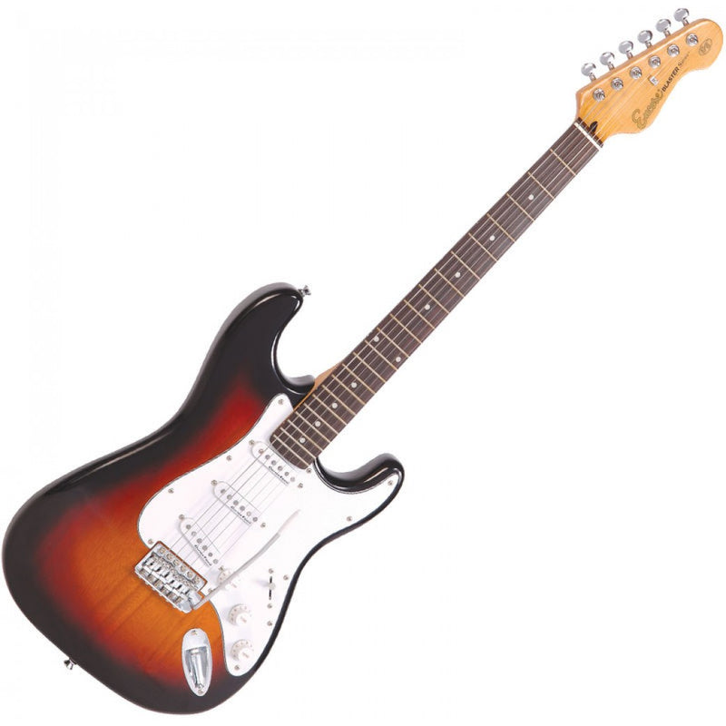 Encore E6 Electric Guitar, 3 Tone Sunburst