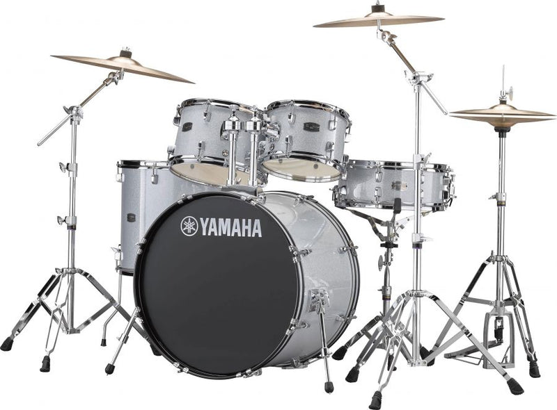 "Yamaha RYDEEN Drum Kit with 22"" Kick Drum & Cymbal Set"