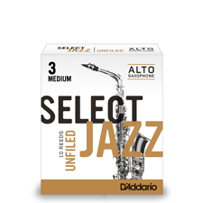 D'Addario Select Jazz - Alto Saxophone Reeds - Box of 10