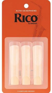 Rico Alto Sax Reeds (Pack of 3)