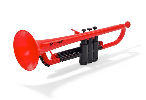 pTrumpet Plastic Bb Trumpet Outfit with Carry Case - Various Colours