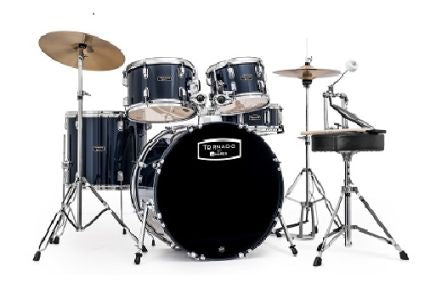 "Mapex Tornado Rock/Fusion Kit 22"" including Cymbals"