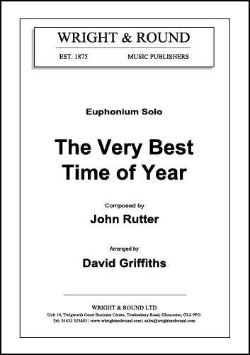 The Very Best Time Of Year (Euphonium Solo) - Parts & Score
