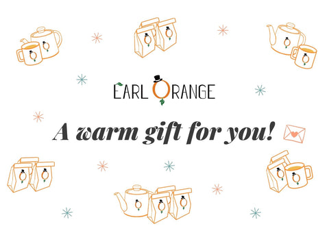 A warm gift for you - losse thee cadeau