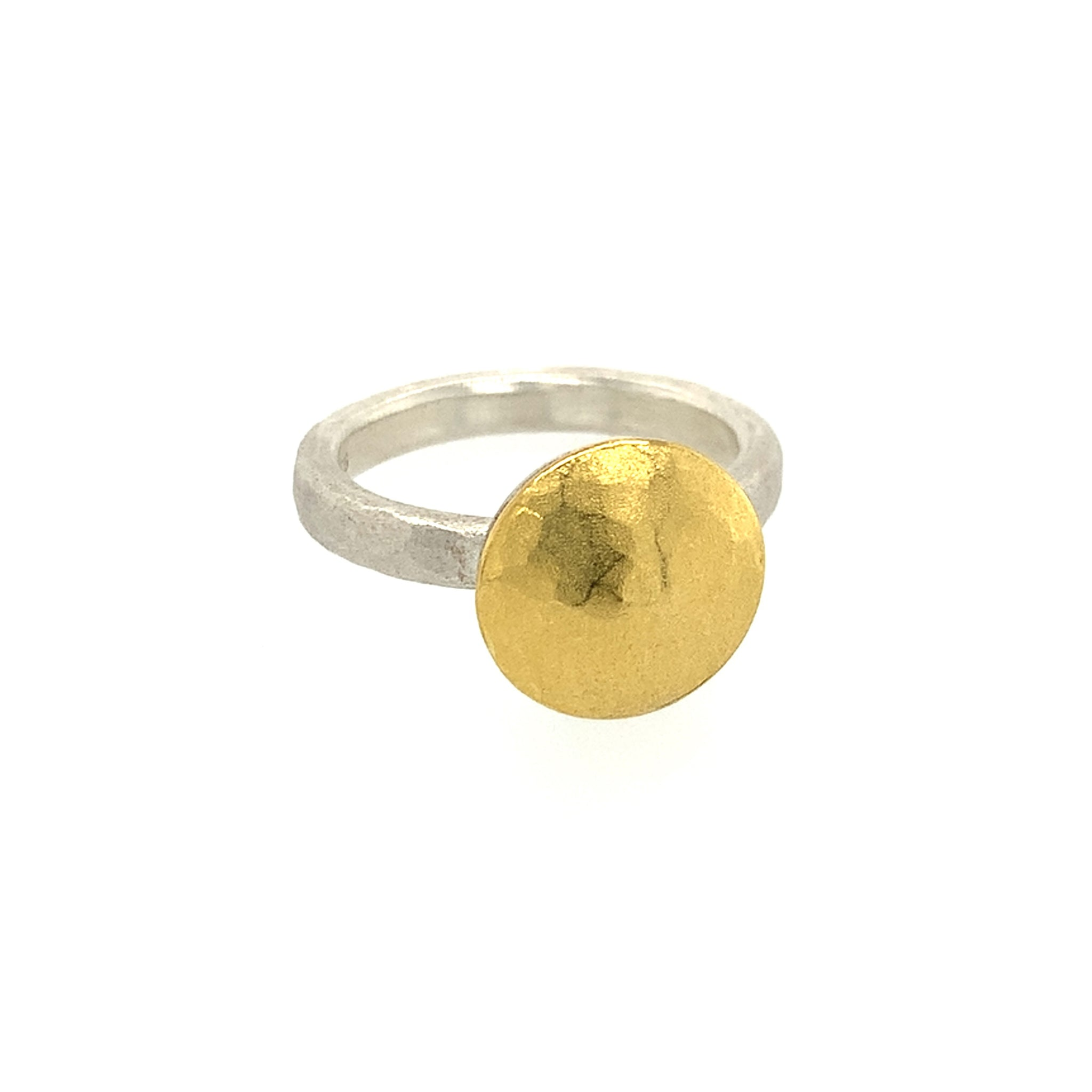 Ring Silber Gold 900 - R38