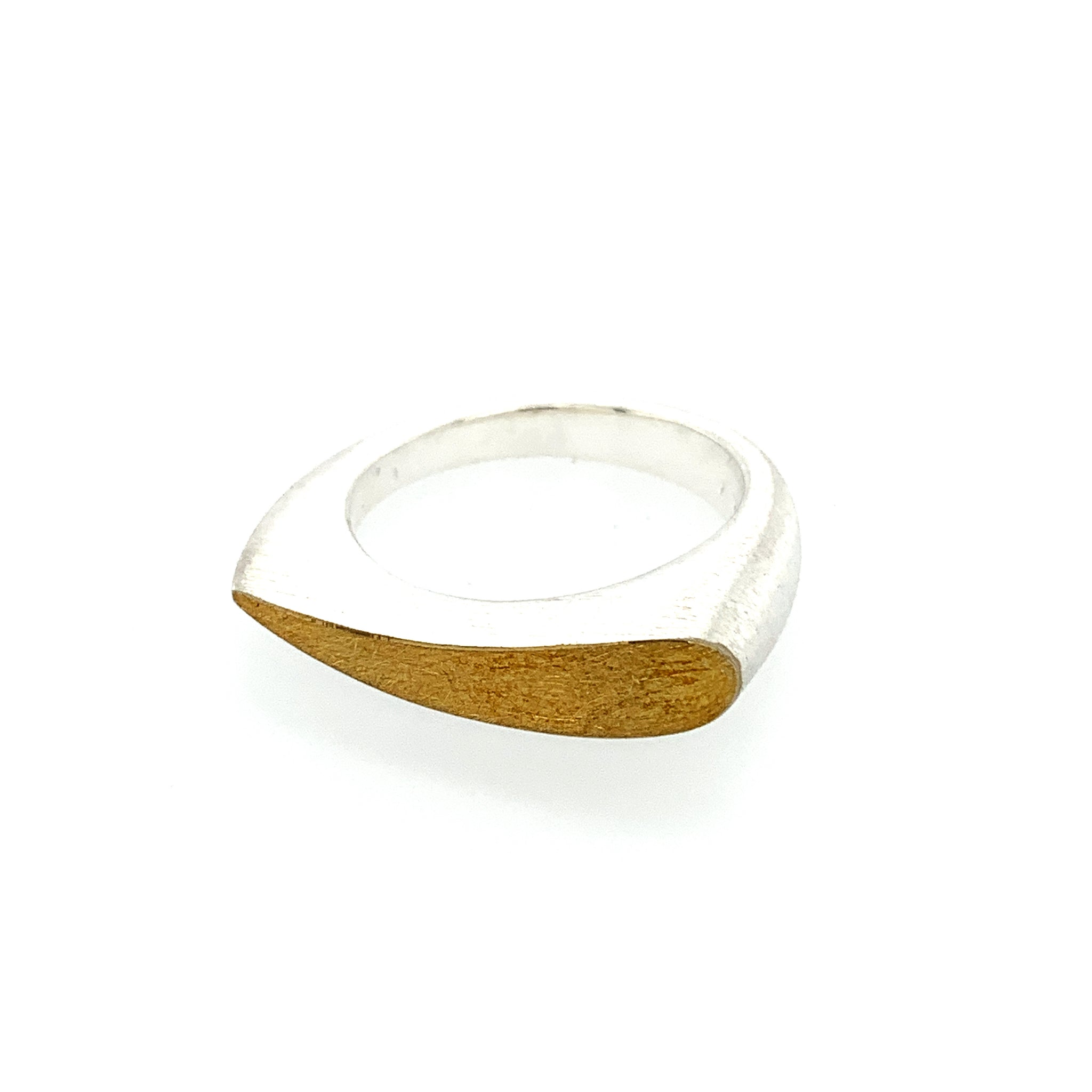 Ring Silber 925 Gold 900 - R119
