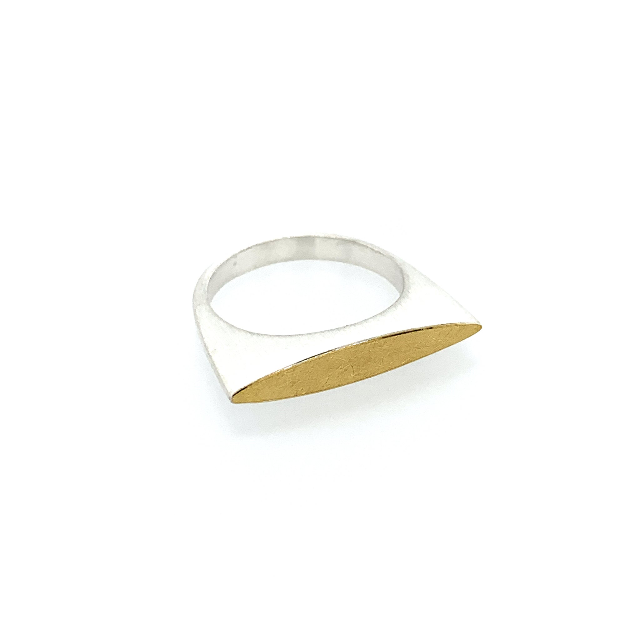 Ring Silber 925 Gold 900 - R127