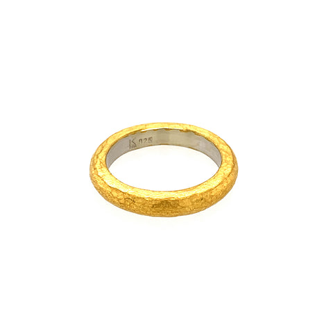 Ring Silber 925 Gold 999 - R137