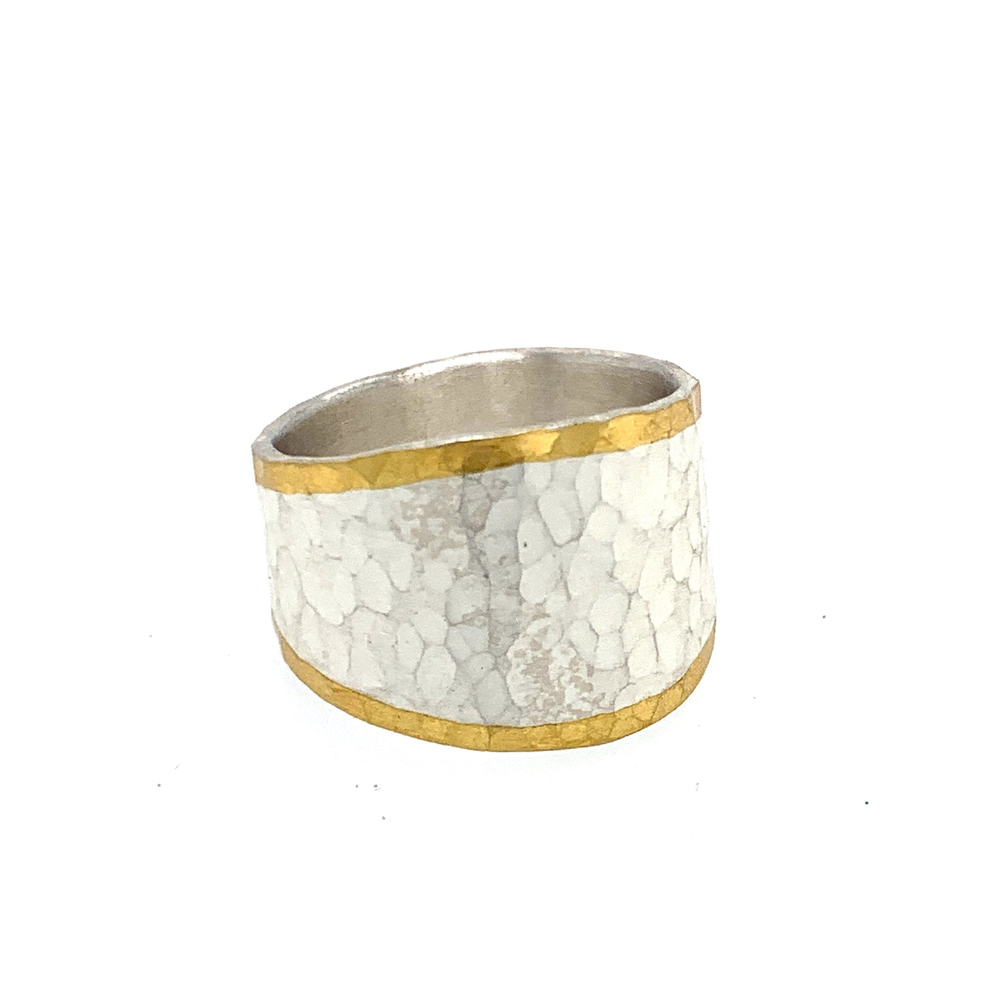 Ring Silber 925 Gold 750 - R14