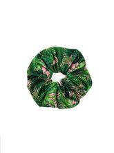 Load image into Gallery viewer, Retro Tropical Face Mask & Oversized Scrunchie