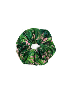 Retro Tropical Face Mask & Oversized Scrunchie