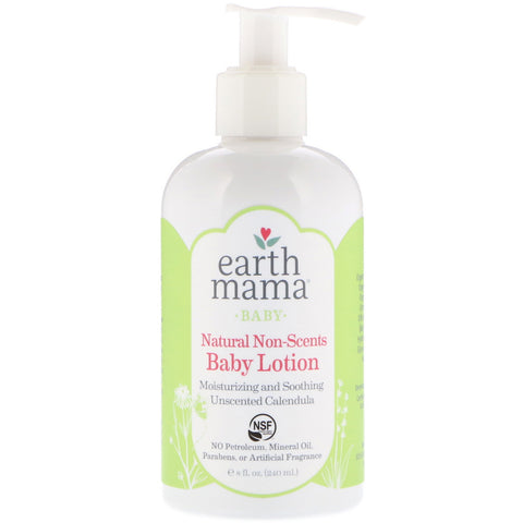 Earth Mama Natural Non-Scents Baby Lotion