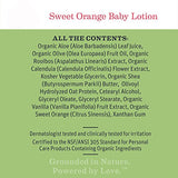 Earth Mama Sweet Orange Baby Lotion