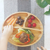 Avanchy Toddler Bamboo Suction Plate + Spoon