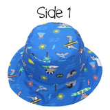 FlapjackKids Reversible Sun Hat - Dino