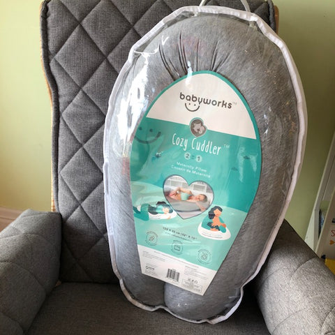 Babyworks Cozy Cuddler 2 in 1 Maternity Pillow
