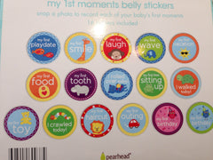 Pearhead my 1st moments stickers