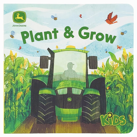 Plant & Grow John Deere Kids Board Book