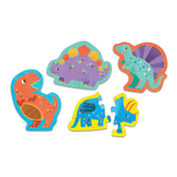 Mudpuppy My First Touch & Feel Puzzles: Mighty Dinosaurs